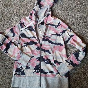 Cute Pink Camo Nike jacket